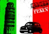 Fiat 500 Italy - Plakty na ze
