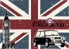Mini England - Plakty na ze