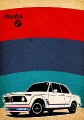 BMW 2002 Turbo - Plakty na ze